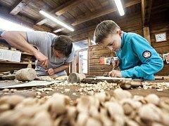 Řezbářský workshop ve Svitavách