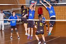 JEDINOU PORÁŽKU na domácím turnaji utrpěli svitavští starší žáci v zápase proti silné Ostravě.