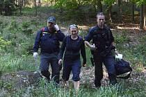 Cvičné pátrání po třech osobách v okolí Budislavi bylo úspěšné