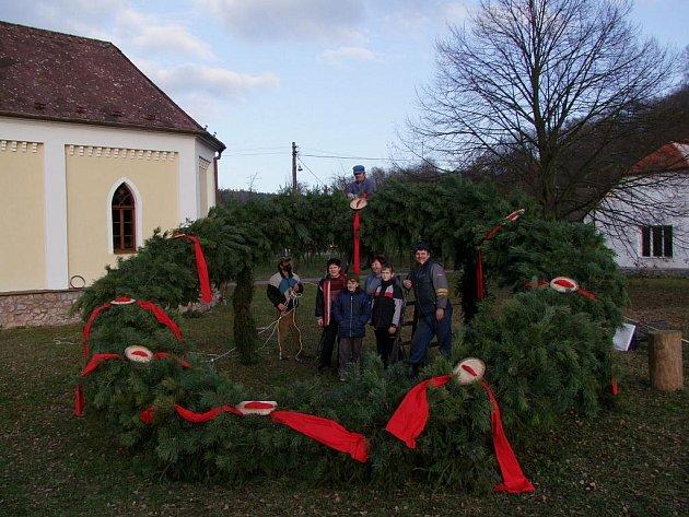 Vánoce, advent 2009