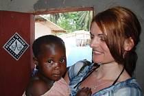 Fotografie z misí, kde Markéta Kutilová působila. Kongo.