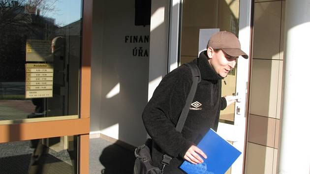 Projektant Josef Findejs z Poličky odchází z FÚ ve Sviatvách.