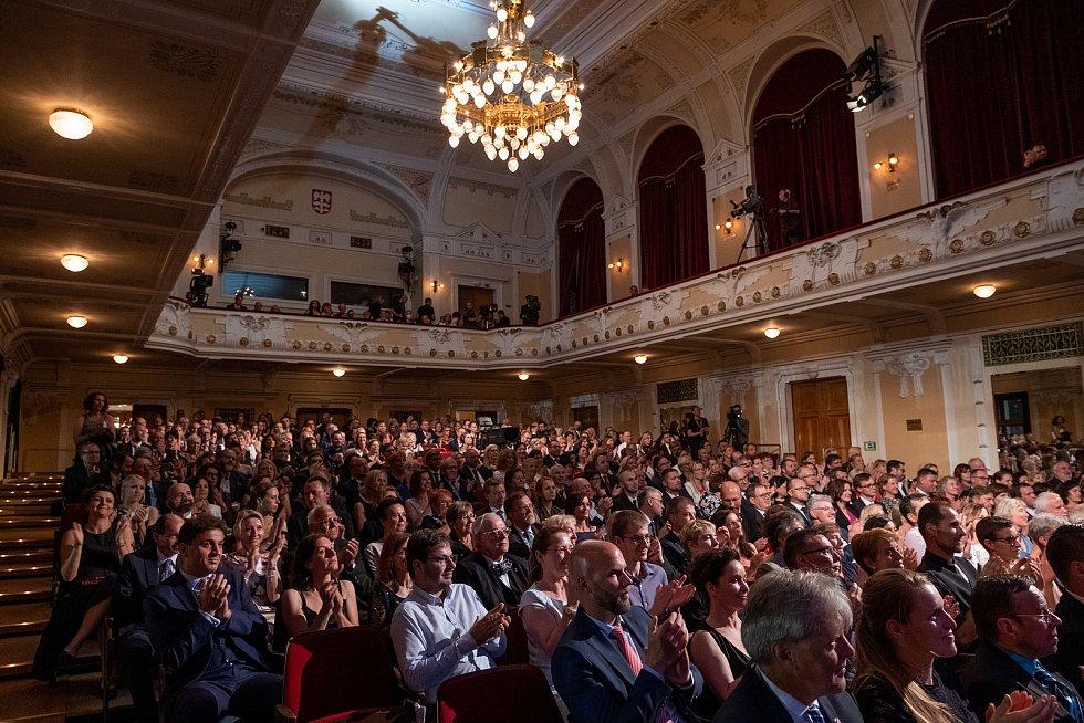 Na zahajovacím koncertu Smetanovy Litomyšle zazněla díla Bedřicha Smetany v podaní českých umělců.