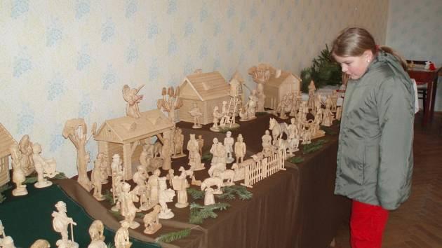 Výstava betlémů v Baníně