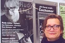 Rudy Linka koncertoval ve svitavské Fabrice