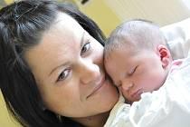 NATÁLIE  MARTINCOVÁ. Holčička se narodila v Litomyšli 21. ledna v 16.26 hodin. Vážila 3,75 kilogramu a měřila 52 centimetrů. Maminka Ladislava si dcerku odveze domů do Vysokého Mýta, kde už čeká jedenáctiletý Jakub.