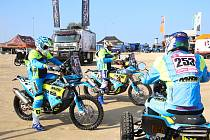 Orion Moto Racing Group na Rallye Dakar.