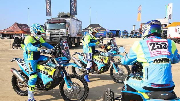 Orion Moto Racing Group na Rallye Dakar.