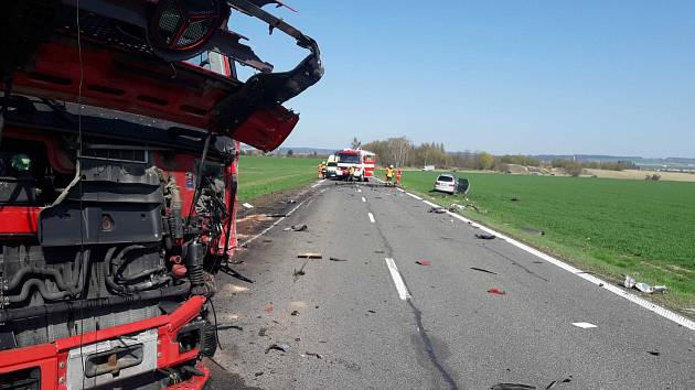 Tragická nehoda se stala v pondělí po patnácté hodině odpoledne na silnici I/34 u Vendolí