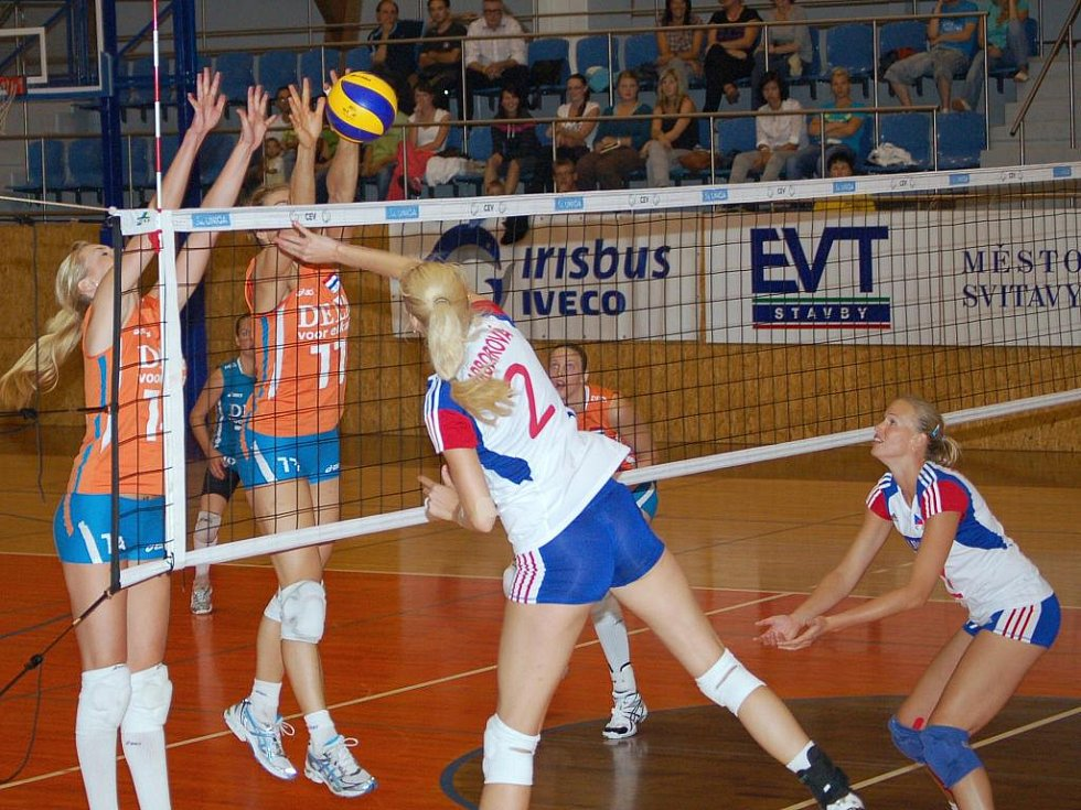 Nezdarem skončil pro české volejbalistky druhý ze série tří přípravných zápasů proti Nizozemsku.