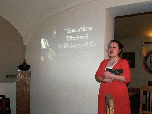 Beseda o Tibetu v Litomyšli.