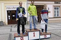Stupně vítězů kategorie muži A.