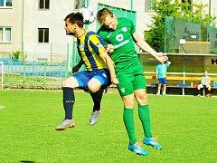 Z utkání FC Hlinsko vs. TJ Svitavy (1:0).