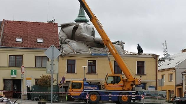 Rekonstrukce úřadu v Jevíčku