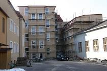 Zateplování školy v Březové.
