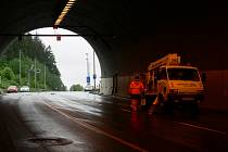 Tunel Hřebeč. Ilustrační foto.