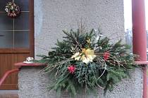 Adventní výzdoba Vlaďky Riemerové.