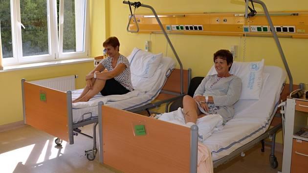 Den otevřených dveří. V litomyšlské nemocnici se nesl v duchu barevné a přátelské atmosféry.