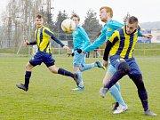 FK Česká Třebová vs. TJ Svitavy (0:1).