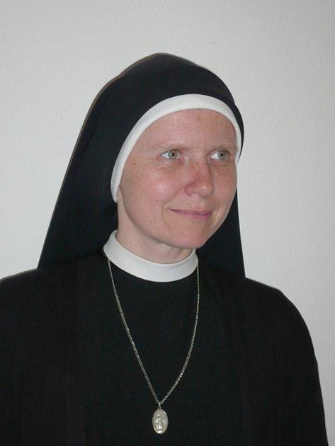 Vojtěcha Zikešová, představená Kongregace sester Neposvrněného Početí Panny Marie