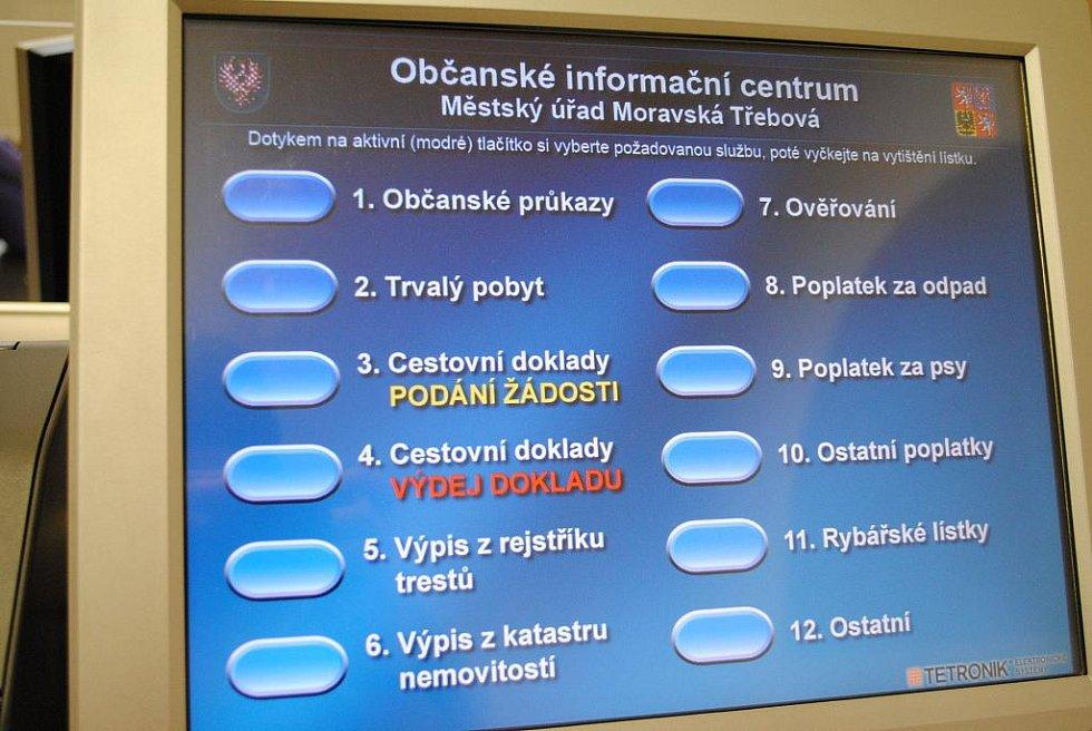 Občanské informační centrum nabízí mnoho služeb.
