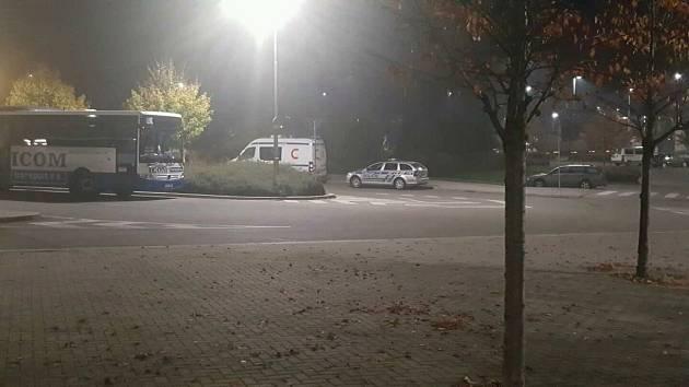 Policie v Litomyšli kontrolovala kamiony.