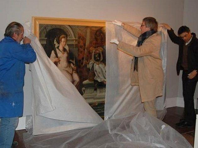 Obrazy z poličské galerie Hohenemsů uvidí návštěvníci Dómského muzea v Salcburku. Prestižní výstava začíná v Rakousku již příští týden.