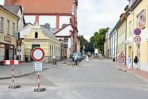 Stavební úpravy kanalizace v Moravské Třebové