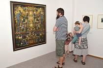 Josef Váchal patří k umělcům, kteří mají na výtvarné mapě Litomyšle nesmazatelnou stopu. Jeho díla jsou k vidění nejen v Portmoneu ale nyní i v městské  galerii.