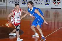V utkání 19. kola Mattoni NBL zavítali na svitavskou palubovku hráči Ostravy.