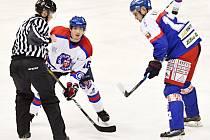 """Rychlý konec nedovolili a první protivníkův """"mečbol"""" odvrátili. Výkon litomyšlských hokejistů snesl přísné měřítko."""