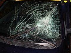 Řidič srazil chodkyni a nadýchal 1,94 promile