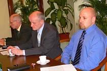 Novým velitelem strážníků je v Moravské Třebové Karel Bláha (vpravo).