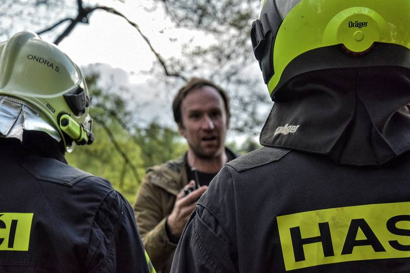 Česká televize natáčí na Poličsku film o Bohuslavu Martinů.
