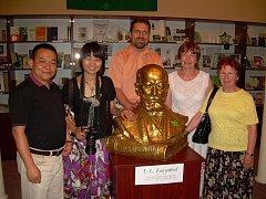 Muzeum esperanta ve Svitavách uvítalo hosty z Číny