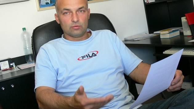 Spolumajitel benzinové pumpy Miroslav Vejman.