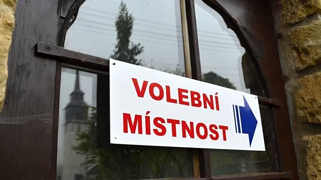 Komunální volby 2014. Sklené.