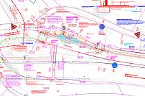 Stezka pro chodce i cyklisty v prostoru křižovatky ulic Olomoucká a Rybní by měla zvýšit bezpečnost a zlepšit dopravní obslužnost, především pro zaměstnance Rehau.