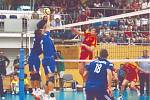 Zápas Česko vs. Makedonie v hale Na Střelnici