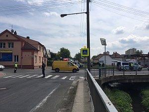 Vozidla se střetla na už tak dost komplikovaném úseku směrem na Brno.