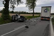 Tragická nehoda u Poličky