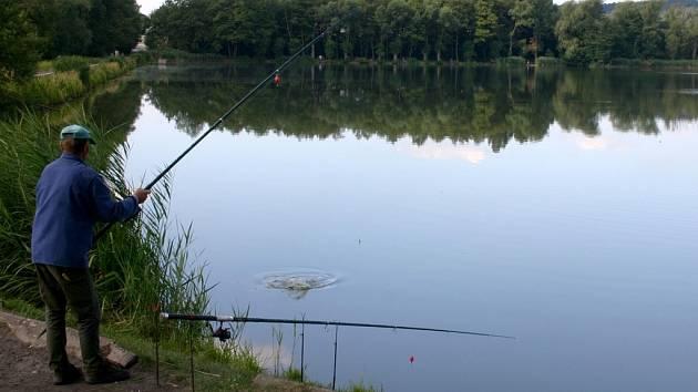 Svitavský rybník Rosnička. Ilustrační foto.