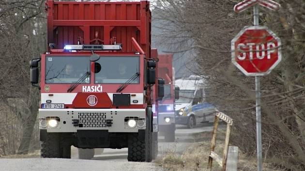 Transport munice do Květné.