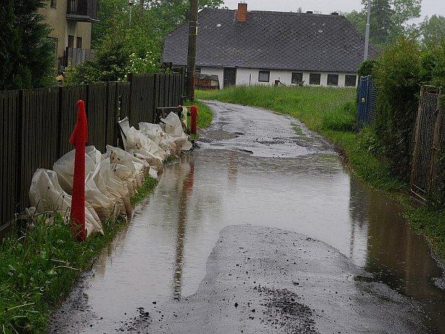 Vytrvalý déšť komplikuje život lidem na Svitavsku.