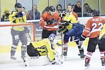 HC Spartak Choceň vs. HC Chrudim.