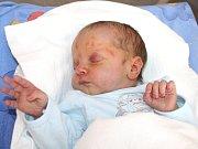 MAREK. Chlapeček přišel na svět 15. března ve Svitavské nemocnici. Sestřičky mu navážily 3,05 kilogramu a naměřily půl metru.