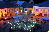 Večerní putování městem v Poličce