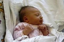 ROZÁLIE RADIMĚŘSKÁ. Narodila se 16. března Michaele Břeňové a Janu Radiměřskému z Poličky. Měřila 52 centimetrů a vážila 3,6 kilogramu.