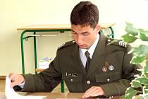 Studenti vojenské školy skládali maturitní zkoušku
