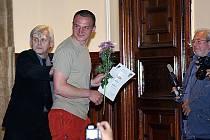 Daniel Hlaváč z Dětřichova u Svitav získal za první místo v kategorii A cenu Fomy Hradec Králové.